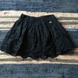 Gilly Hicks Navy Mini Skirt